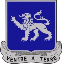 68th Armored Regiment DUI Decal