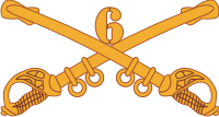 6th Cavalry Decal