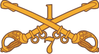 7-1 Cavalry Decal