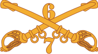 7-6 Cavalry Decal