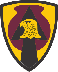 734th Regional Support Group Iowa Army National Guard Decal