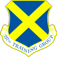 737th Training Group Decal