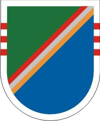 75th Ranger Regiment 3rd Battalian Flash – Obsolete Decal