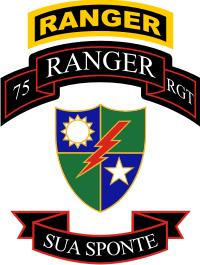 75th Ranger Regiment Combo Sua Sponte Decal