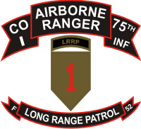 75th ABN Rangers I Company 1st ID LRP Decal