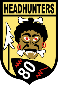 80th Fighter Squadron (v2) Decal