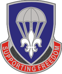 82nd Sustainment Brigade – 2 Decal