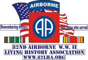 82nd ABN History Assn Decal