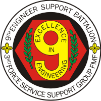 9th Engineer Support Battalion Decal