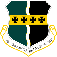 9th Recon Wing Decal