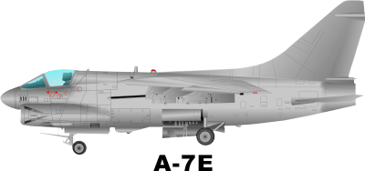 A 7E Corsair Decal