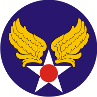 U.S. Army Air Force 1941 - 1947 Decal
