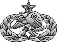 Air Force Aircraft Maintenance & Munitions Badge - Senior Decal