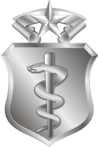 USAF Medical Corps Master Badge Decal