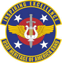 US Air Force Band Heritage of America Decal