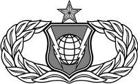 AF Command and Control Badge Senior Decal