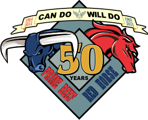 USAF Civil Engineers 50th Anniversary (CE Insignia) Decal