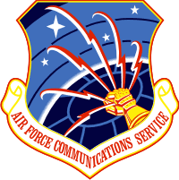 Communications Service Decal