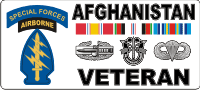 Afghanistan SFABN Veteran (2) (In White Box) Decal