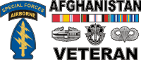 Afghanistan SFABN Veteran (2) Decal