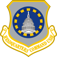 USAF HQ Command Decal
