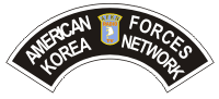 American Forces Korea Network Tab Decal