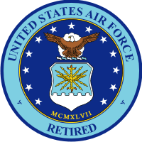 Air Force Seal Retired Decal