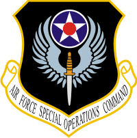 Air Force Special Operations Command Decal