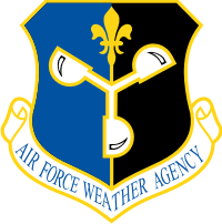 Air Force Weather Agency Decal