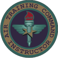 Air Training Command Instructor Decal