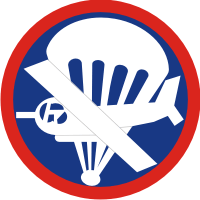 Airborne Glider - Enlisted Decal