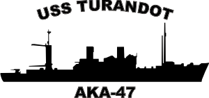 Attack Cargo Ship AKA (Black) Decal