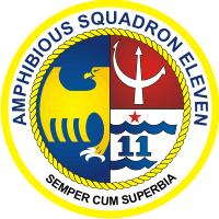 Amphibious Squadron Eleven Decal
