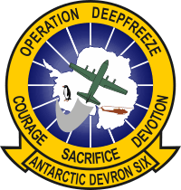 VXE-6 Antarctic Development Squadron 6 Operation Deep Freeze Decal