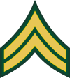 Army E-4 CPL Corporal Decal
