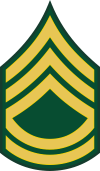 Army E-7 SFC Sergeant First Class Decal