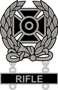 Army Expert Weapons Qualification Badge Decal