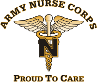Army Nurse Corps Decal
