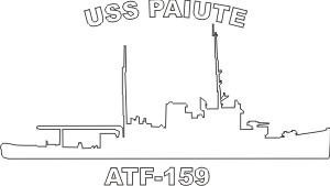 Fleet Tug ATF (White) Decal