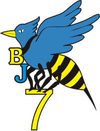 Beach Jumper Unit 7 BJU-7 Decal