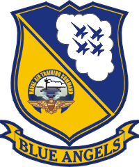 Blue Angels - Arm Patch Version Decal