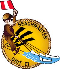 BMU-2 Beachmaster Unit 2 - Chimp 2 Decal