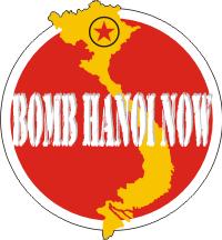 Bomb Hanoi Now Decal