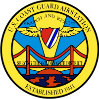 Coast Guard Air Station Golden Gate District Decal