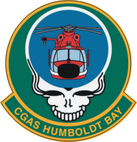 Coast Guard Air Station Humboldt Bay Decal