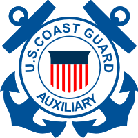 Coast Guard Auxiliary Seal Decal
