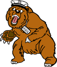 Coast Guard – Objee the Bear (Left) Decal