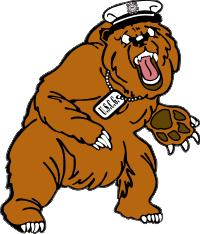 Coast Guard – Objee the Bear (Right) Decal