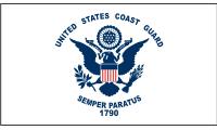 US Coast Guard Flag Decal
