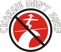 Charlie Dont Surf Decal